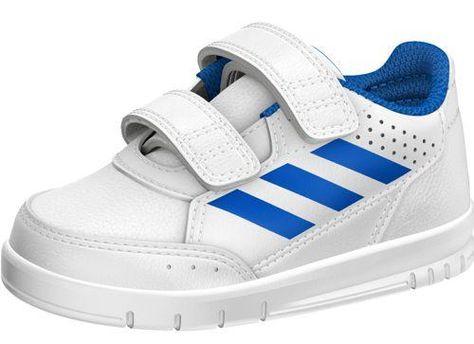 huge discount 54908 b7d65 Zapatillas de niño ADIDAS ALTASPORT CF blanco y azul