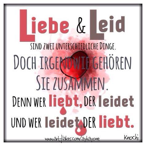 ❤️#Liebe und #Leid sind zwei unterschiedliche #Dinge. Doch irgendwie gehören sie zusammen. Denn we - knochi_art