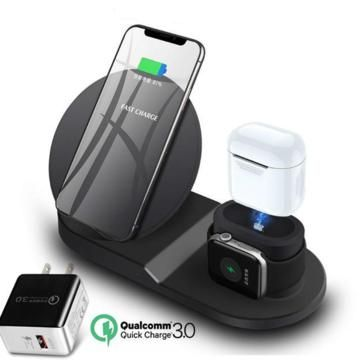 3 in 1 MULTIFUNCTIONAL WIRELESS CHARGER: Perfectly charge