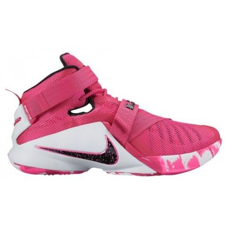 online store 803d4 d4b19 Nike Zoom Soldier 9 - Mens - Basketball - Shoes - LeBron James - Vivid  PinkWhitePink PowMetallic Silver-sku49417601  chapo  Pinterest  Nike,  Nike ...