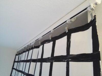 押入れのカーテンの作り方 簡単ikeaの布でdiy 取り付け方 カーテン