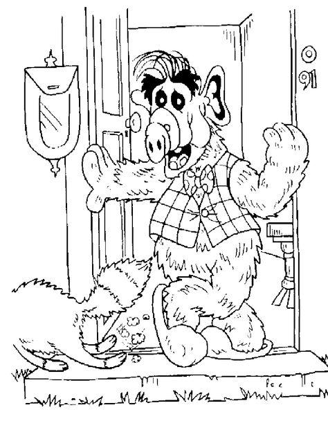 Alf Malvorlage