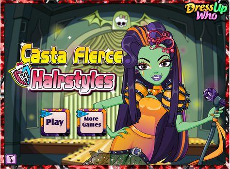 Casta Fierce Hairstyles Girls Monsterhigh Hairstyles