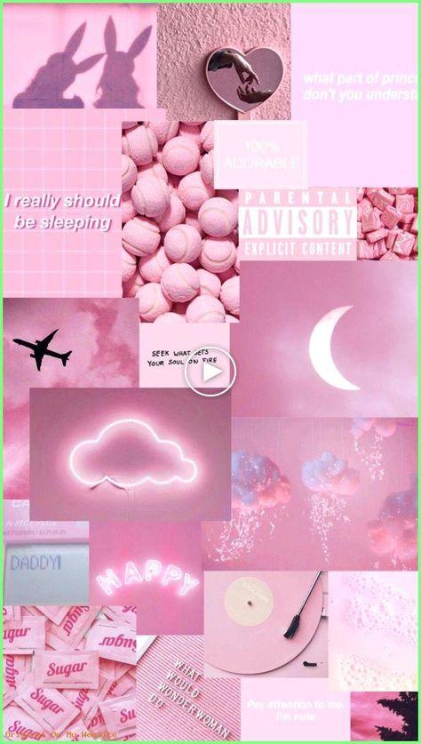 Hintergrundbilder Iphone - Pink aesthetic wallpapers - #aesthetic #fondecran #pink #Wallpapers #aestheticbackgrounds #phonebackgrounds #backgrounds