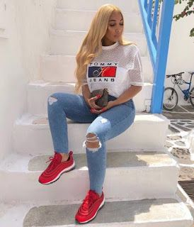 Cute Sporty Outfits For School You Must Try 41 - Fashion outfits -