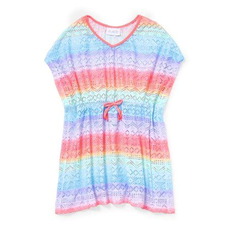 The Childrens Place Girls Big Rainbow Coverup