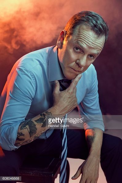 Kiefer Sutherland Tattoos Photos and Premium High Res Pictures