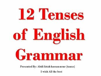 ENGLISH TENSES COMPLETE 12 TENSES IN EASY WAY TO UNDERSTAND HAND WRITTEN NOTES