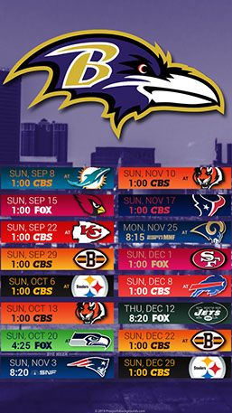 Baltimore Ravens 2019 Mobile City Nfl Schedule Wallpaper Baltimore Ravens Football Baltimore Ravens Baltimore Ravens Wallpapers