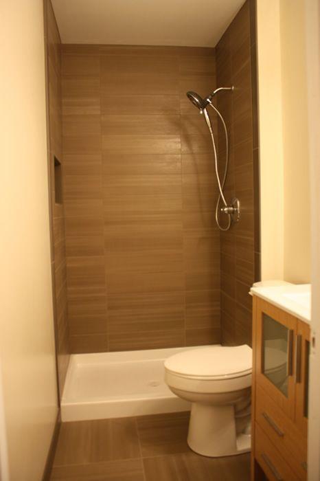 Master Bathroom Remodel Small Bathroom With A 4 5 X 8 Footprint