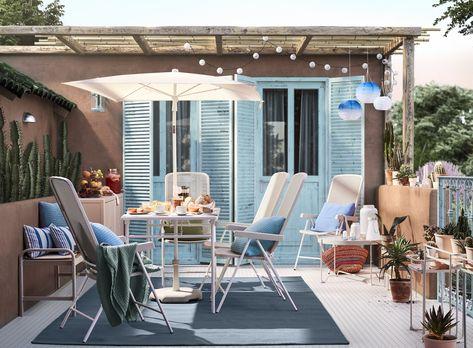 9 Outdoor Space Ideas Inspired by IKEA Stylists | Poppytalk