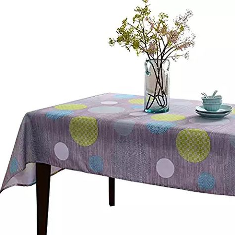 Phenomenal Jiater Elegant Printed Table Cloth Spillproof Polyester Bralicious Painted Fabric Chair Ideas Braliciousco