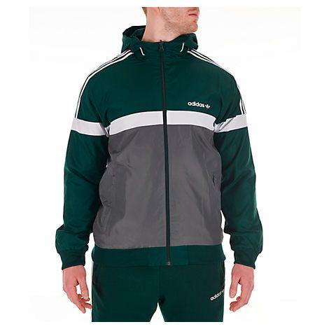 Neu Adidas Originals Men's Itasca Full Zip Hooded
