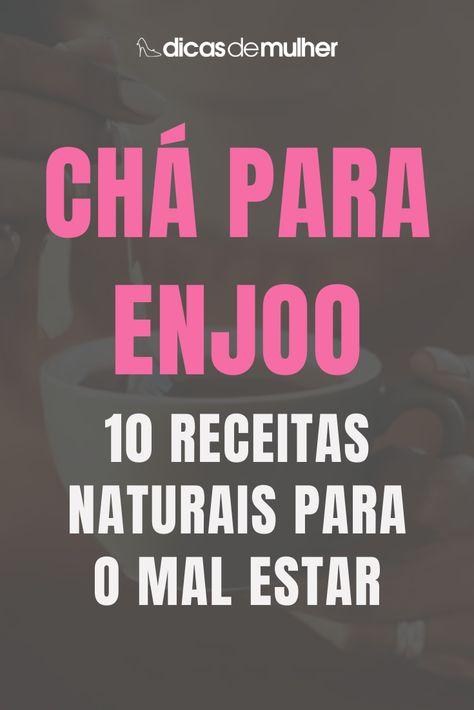 #dicas #cha #enjoo #receitas #natural