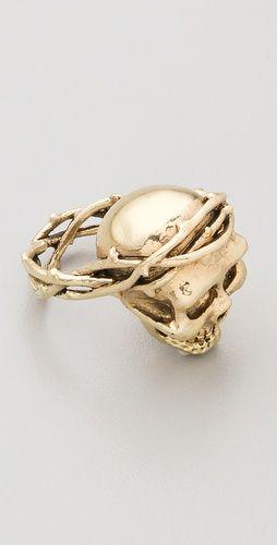 Monserat De Lucca Skull Ring Style #:MONSE20072 €49.37   $62.00