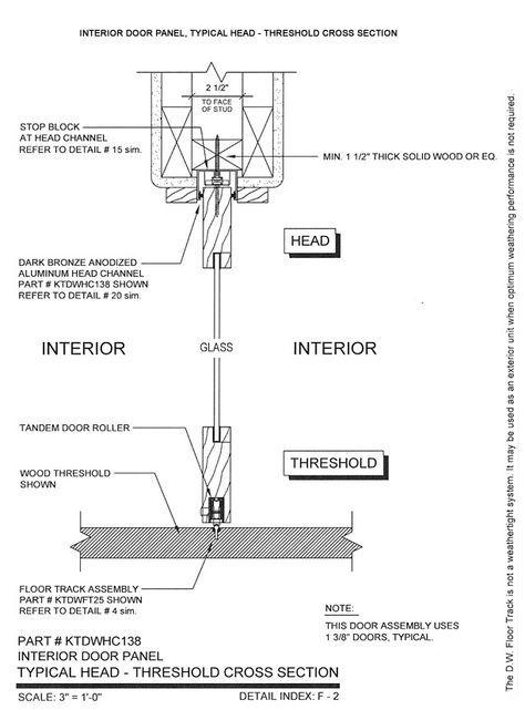 34 Ideas Sliding Glass Door Detail Drawing Door Detail Sliding Glass Door Detailed Drawings