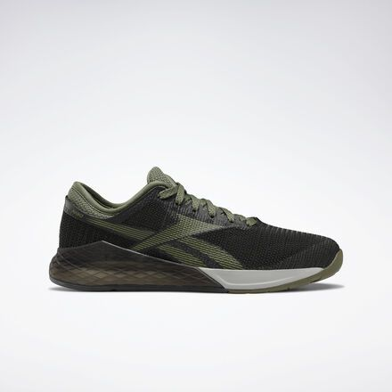 Reebok Shoes Men's Nano 9 in BlackCanopy GreenTrue Grey 4