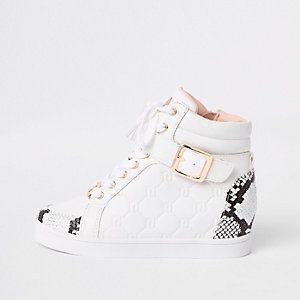 Girls boots, Snake print, Girls shoes