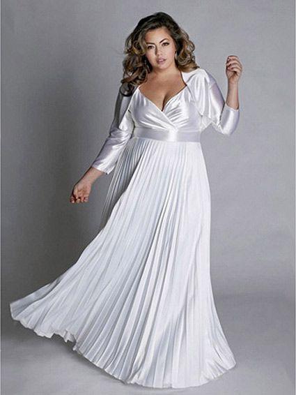 Plus Size Wedding Dresses For Older Brides   Wedding Gallery