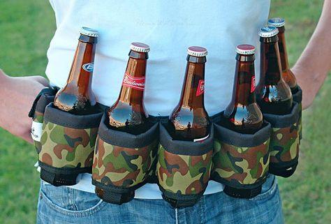 Beer Belt   Beer holster, Gag gifts for men