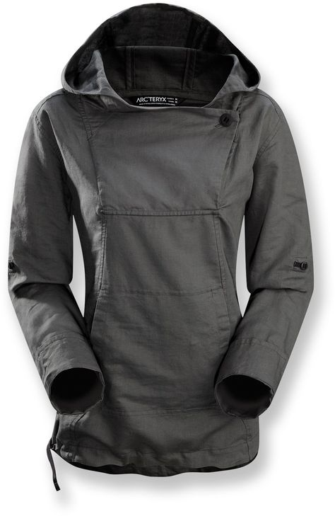 Need a no-cotton, no-zip hoodie. Arc'teryx C'esta Hoodie - Women's - Free Shipping at REI.com