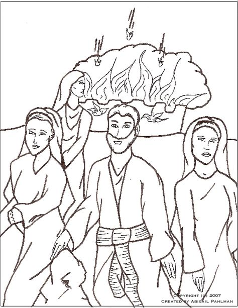 Sodom And Gomorrah Coloring Page Kids Bible Object Lessons