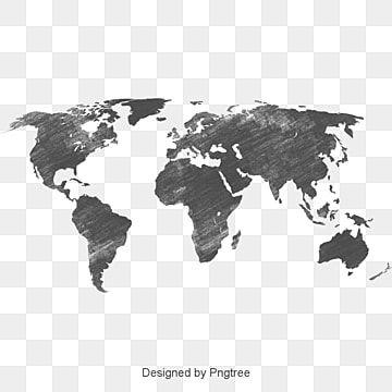 Black World Map Analysis Business Affairs Vector Diagram Strategy Analysis Black Vector World Vector Map World Map Silhouette Color World Map Mind Map Design
