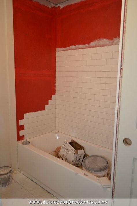 How To Tile A Tub Surround | Bathtub Walls, Bathtubs And Walls