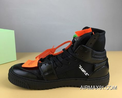 8255893a9b16b6 Virgil Abloh X Off-White Low High-Tops 3.0 All Black Outlet
