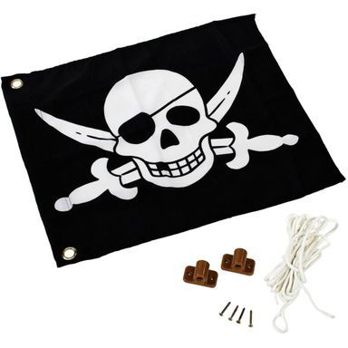 Flaga Pirat Z Systemem Podnoszenia Szer 55 X Wys 45 Cm Kbt Elementy Do Budowy Placow Zabaw W Atrakcyjnej Cenie W S Unique Flags Backyard For Kids Pirates