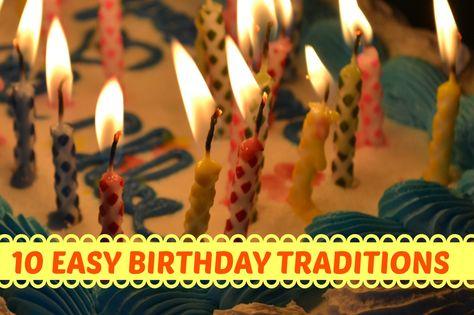 10 Simple Ways to Make Birthdays Extra Special