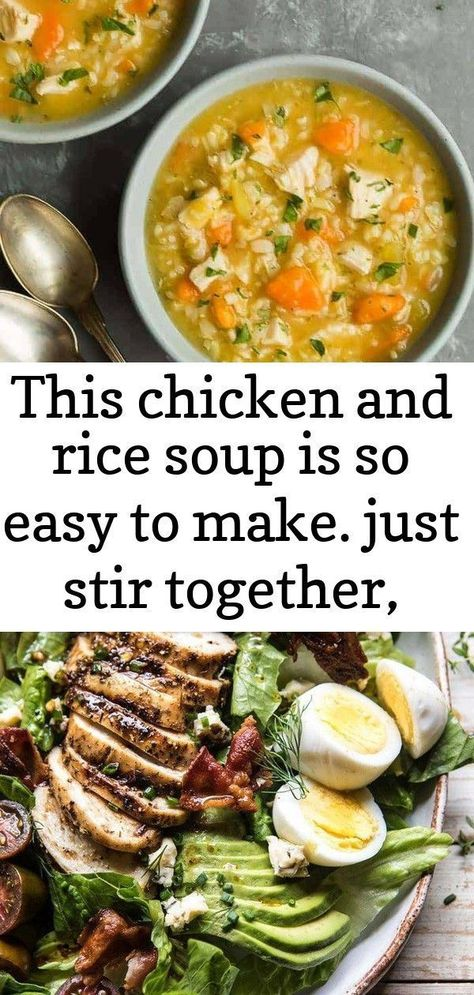 This chicken and rice soup is so easy to make. just stir together, cover, and simmer until the veg 2 #grilledchickenparmesan This Chicken and Rice Soup is so easy to make. Just stir together, cover, and simmer until the vegetables and the rice are tender. #chicken #soup #recipe #cooking #spendwithpennies #easysoup #chickendandrice Balsamic Grilled Chicken Cobb Salad | halfbakedharvest.com #chicken #salad #tomatoes #GrillChicken How to make Crock Pot Chicken Parmesan? This is the instruction of r