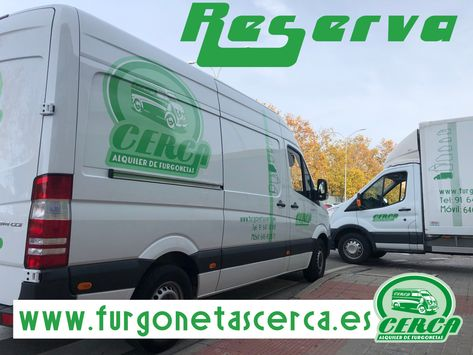 Jueves, No esperes mas y reserva tu furgoneta de alquiler   www.furgonetascerca.es