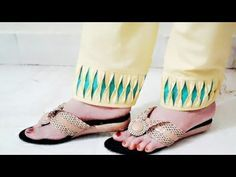 Salwar ki Mohri / Pouncha / Pauncha Design Stitching Easy Method - DIY - YouTube