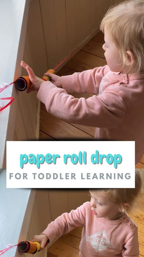 Independent Toddler Play Idea