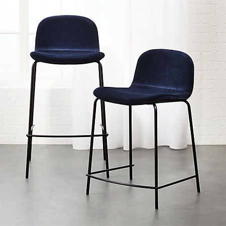 Excellent Primitivo Blue Velvet Bar Stools Club Rayshire In 2019 Pabps2019 Chair Design Images Pabps2019Com