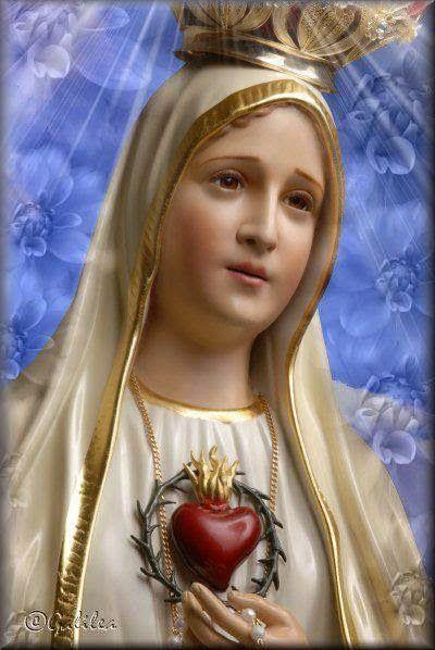 Virgen De Fatima En 2020 La Virgen De Fatima Inmaculado Corazon