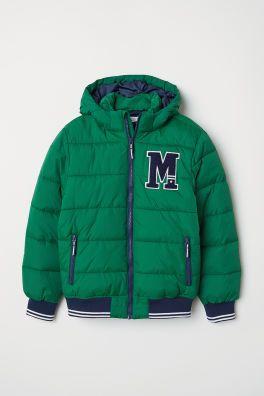 fda492c79 Padded Jacket | temporada 2019 | Padded jacket, Jackets, Kids ...