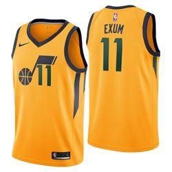 official photos d5804 cde92 Utah Jazz Nike Statement Swingman Jersey - Dante Exum - Mens ...