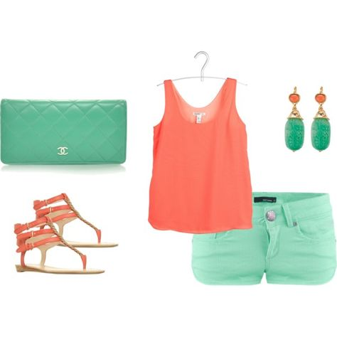Love the colors for summer!