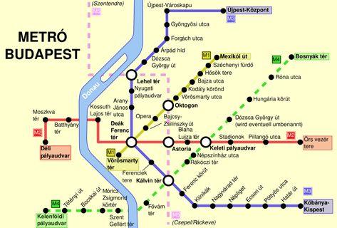 Budapest Metrovonalak Google Kereses Budapest Terkep Utazas