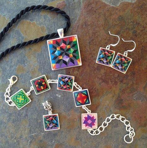 Quilt Pattern Jewelry