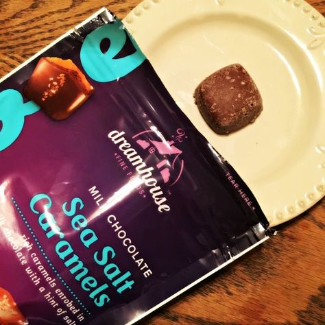 Milk Chocolate Sea Salt Caramels... need I say more? Dreamhouse candies are available at Rite Aid. They are not only delicious but also affordable.