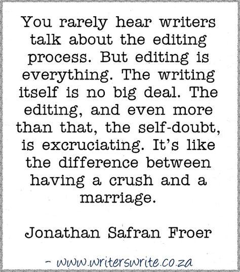 Quotable – Jonathan Safran Foer – Writers Write
