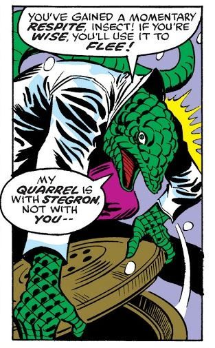 The Lizard In The Amazing Spider Man 166 War Of The Reptile Men Amazing Spider Spiderman Reptile Man