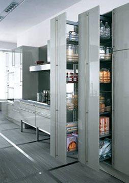 colonne coulissante cuisine ikea trick