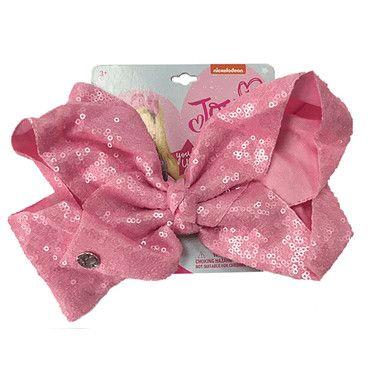 Jojo Siwa Series 2 Sequin Bow- Pink