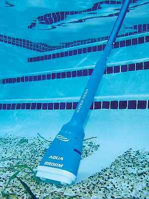 Water Tech Pool Blaster Aqua Broom Handheld Battery Operated Spa Pool Vacuum Pool Vacuums Swimming Pool Vacuum Pool Vacuum