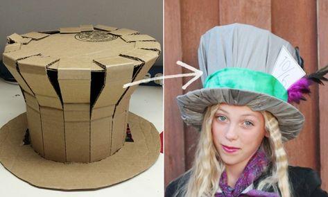 Karnevalshüte selber machen - Einfache DIY Ideen für das Kostüm