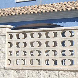 Celosia Sol 40x20x6 Cm Leroy Merlin Breeze Block Wall Wall Design Block Wall